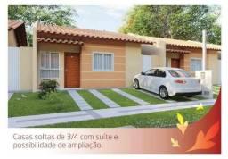 Casa 3/4 - Club Residencial - Alto do Candeias