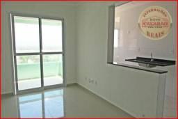 Apartamento com 1 dormitório à venda, 48 m² por R$ 254.185,12 - Balneário Flórida - Praia