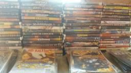 Lote de dvd de filmes.mais de 200.troca por tenis de futsal ou society