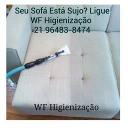 WF Higienização & Impermeabilização