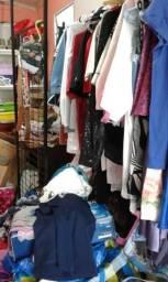 Lotes roupas e outras peças Brechó chic
