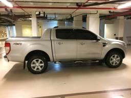 Ford ranger 2013 limited diesel blindada NIII-A sem detalhes