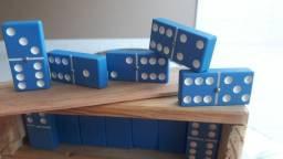 Dominós PVC rígido Azul