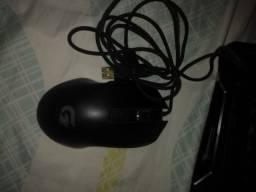 Teclado e mouse gamer novo