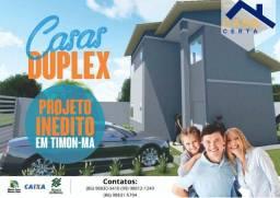 Lançamento casas duplex em Timon
