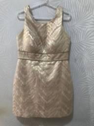 Vestido Dourado For Yets