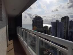 Apartamento com 2 dormitórios para alugar, 97 m² por R$ 3.500/mês - Canto do Forte - Praia