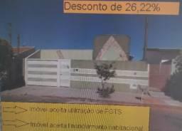 Casa em Fernandópolis Desocupada - Jardim Planalto