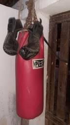 80 Leva tudo Saco de pancadas + luvas de boxe
