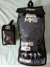 Luva e bandagem Boxe Muay Thai Mks<br><br>