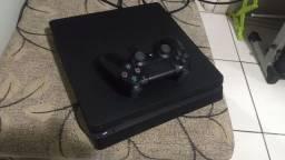 PS4 slim com jogo da foto somente venda!