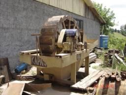 Peneira vibratória, peneira rotativa, lavador de areia (roda de água)