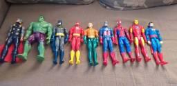 Coleção Bonecos Super Heróis