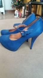 Sapato azul Vizano
