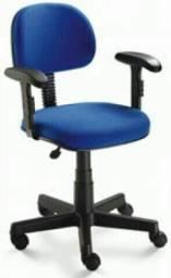 Cadeira giratória Secretária Com Braços Reguláveis