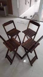 Jogo de Cadeira para Bancada