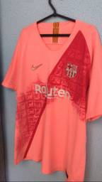 Camisa de Time Barcelona Refletiva Rosa