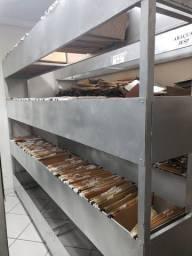 Estante de aço para arquivo em pasta suspensa
