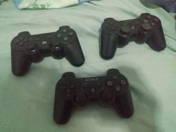 Play 3 com 3 controles