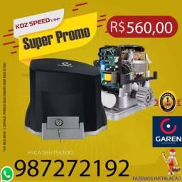 Motor Garen speed 1/3 para Portão de garagem, com instalação