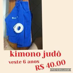 Kimono judô  Tam 4-6 anos