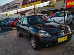 Renault clio 2006 oportunidade abaixo da fipe parcelinhas de 399 mensais
