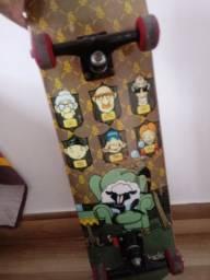 Skate semi profissional shape blackshape