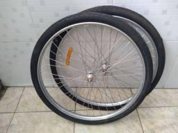 Rodas Aro 26 x 1.1/2 montada Pirelli
