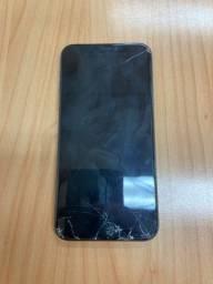 Iphone X - 64GB - Tela Trincada