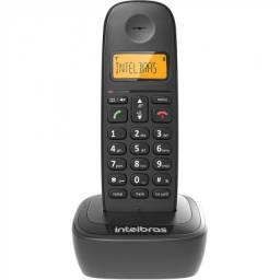 Telefone Sem Fio Com Identificador Preto Ts2510 Intelbras