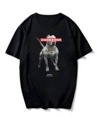 Camiseta preta underdog