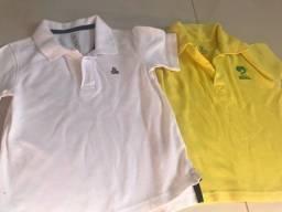 Título do anúncio: Camisas GAP e planeta bebê 2 anos