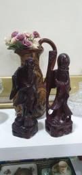 Título do anúncio: Moveis antigos, esculuras madeira, antiguidades, reliquias raridade, colecionadores