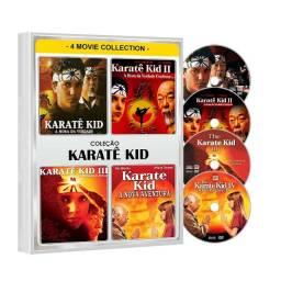 Dvd Karatê Kid Hora Da Verdade 1 2 3 4 Quadrilogia - 4 Dvd