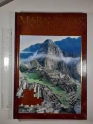 Maravilhas do Mundo, Livro quebra cabeça- Usado