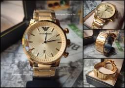 Emporio Armani Gold Novo/Pronta Entrega