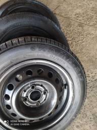 Vendo pneus 175/65/14