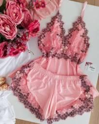 Baby doll luxo e Camisola luxo sem bojo
