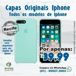 Capas Originais IPhone (Entrega Grátis)