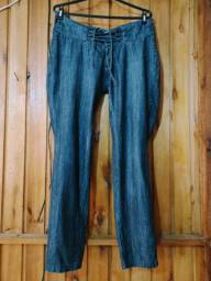 649 - Calça jeans feminina - Tam 42