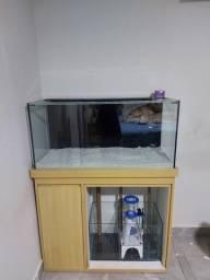 Vendo aquario  marinho  100x40x40 200L