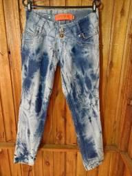 635 - Calça jeans - Diversos modelos - Tam 44