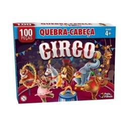 Quebra cabeça puzzle 100 peças Circo 4+ 2873