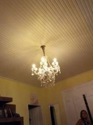 Lustre luxo 6 lâmpadas