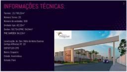 Altos do Maguari-R$ 145.000 -Lançamento-Ananindeua-2 quartos-Casa Verde Amarela