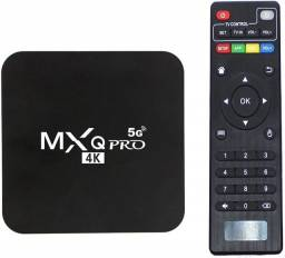 Smart Tvbox  Android 10 Wifi 5g Internet Tv com garantia!