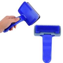 Escova para PET importada com sistema de auto clean. Tipo Rasqueadeira