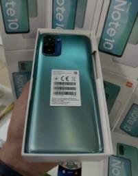Celular Xiaomi Redmi Note 10 128GB / 4GB RAM / 5G / Dual Sim - Verde