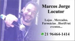 Locutor Marcos Jorge