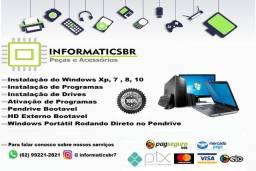 Formatação Completa de Computadores e Notebooks em Goiânia